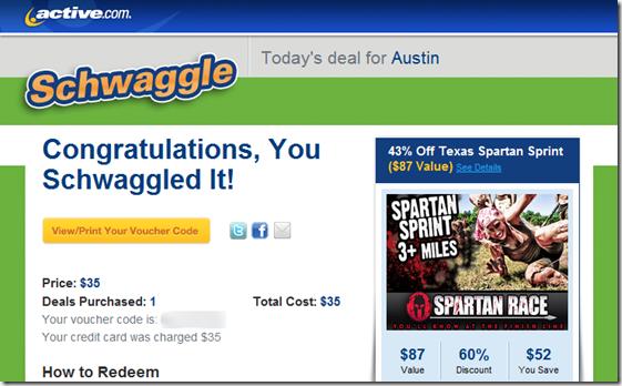 Texas Spartan Spring Schwaggle