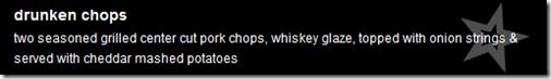 drunken chops